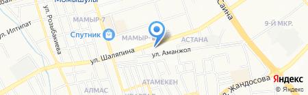 Белуга на карте Алматы