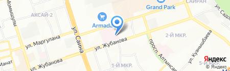 Городской перинатальный центр на карте Алматы