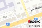 Схема проезда до компании Тайм Принт в Алматы