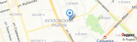 Ника на карте Алматы