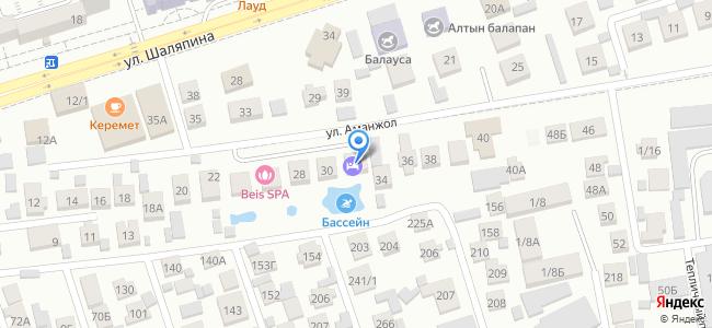 Казахстан, Алматы, улица Аманжол, 32