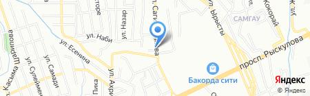 Олжа продовольственный магазин на карте Алматы