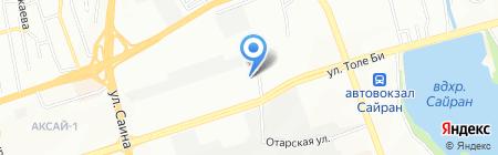 Шаг Плюс на карте Алматы