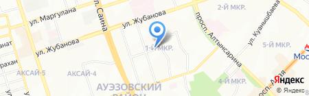 Калинка на карте Алматы