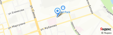 АВИЦЕННА на карте Алматы