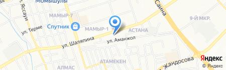 Балауса на карте Алматы