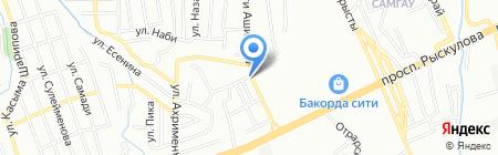 Восторг продовольственный магазин на карте Алматы