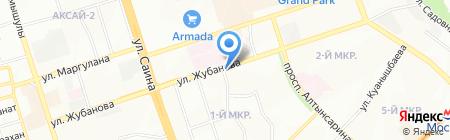 Sert на карте Алматы