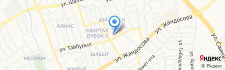 RONA LTD на карте Алматы