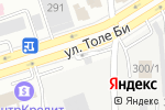 Схема проезда до компании МегаТехТранс в Алматы