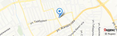 Городская поликлиника №18 на карте Алматы