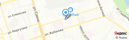 Дом паркета на карте Алматы