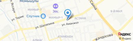 Алтын балапан на карте Алматы
