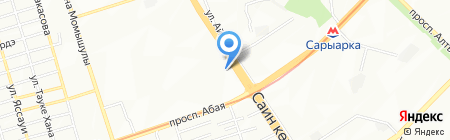 INVIVO на карте Алматы