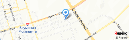 Гоша на карте Алматы