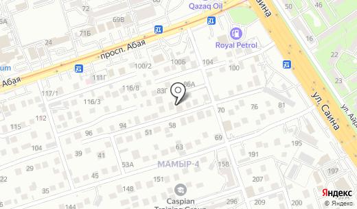 Гоша. Схема проезда в Алматы