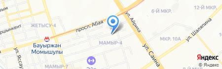 ЭЛКО на карте Алматы