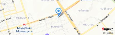 SAM-Trade на карте Алматы