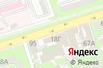 Схема проезда до компании Ай-Ван, ТОО в Алматы