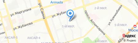 СДЮШОР №9 на карте Алматы