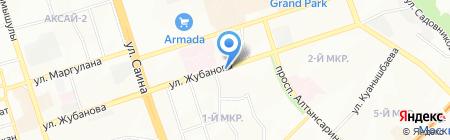Ак-Арна-Уш на карте Алматы