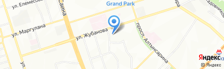 Бала би на карте Алматы
