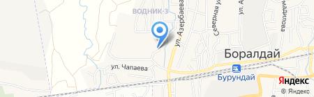 Крома на карте Алматы