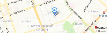 Детский сад №29 на карте Алматы