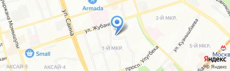 Санаторный ясли-сад №25 на карте Алматы