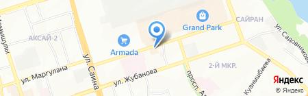 Греческая Таверна на карте Алматы