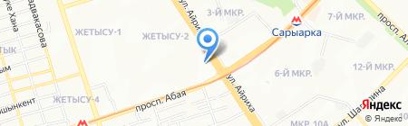 Darling на карте Алматы