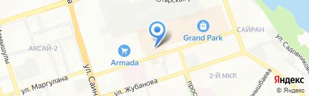 Металл+ на карте Алматы