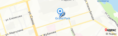 СиД на карте Алматы