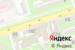 Схема проезда до компании Акрополис в Алматы