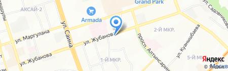 Автобезопасность на карте Алматы