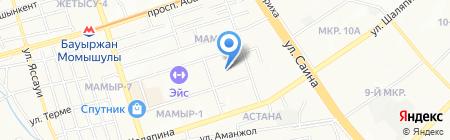 Youth power на карте Алматы