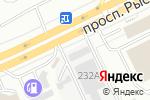 Схема проезда до компании Гермес в Алматы