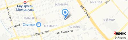 А-Эсперанто на карте Алматы