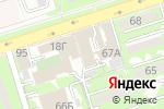 Схема проезда до компании Тамсан в Алматы
