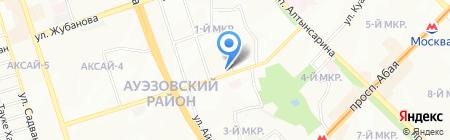 Фукури на карте Алматы
