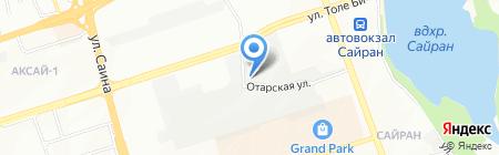 Remalux производственно-торговая компания на карте Алматы