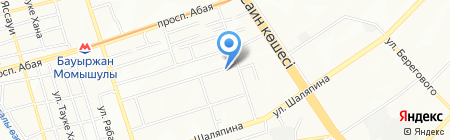 Казахконсалтинг на карте Алматы