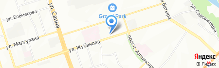 ВЕЧНАЯ ПАМЯТЬ на карте Алматы