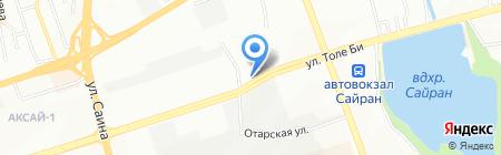 Лунь-Шянь на карте Алматы