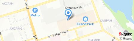 Саломон Компани на карте Алматы
