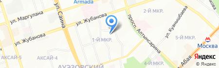 Общеобразовательная школа №97 на карте Алматы