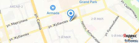 Центр традиционной китайской медицины на ул. Жубанова на карте Алматы