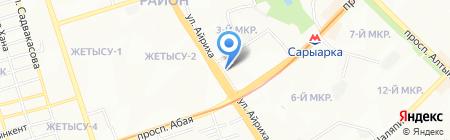 Натали салон красоты на карте Алматы