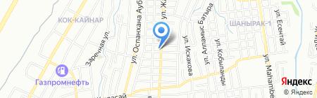 Аква лаб на карте Алматы