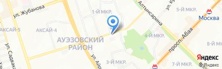 Сабира на карте Алматы